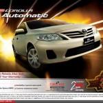 2013 Corolla GLi Automatic Price in Pakistan