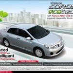 New Corolla Ecotec XLi & GLi 2013 Price in Pakistan