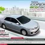 New Corolla Ecotec XLi & GLi 2013 Price in Pakistan