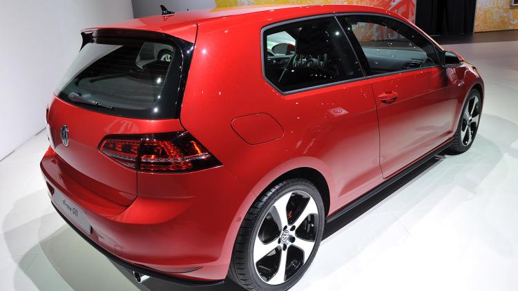 7th Generation VW 2013 Golf GTI back