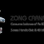 Zong Car Nama Package Offers Five 2013 Honda Civic