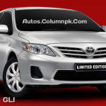 2013 Toyota GLi & GLi Automatic Price in Pakistan