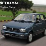 Suzuki Mehran VX & Mehran VXR 2013 Price in Pakistan