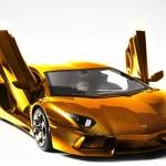 Lamborghini Aventador Gold Version: World's Most Expensive Car
