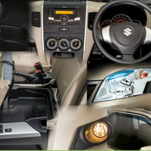 Suzuki Wagon R VXL Interior