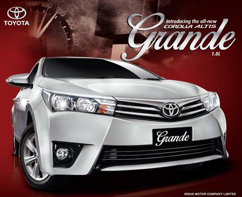 Corolla Altis Grand 2015