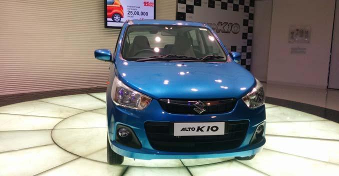 New Maruti Alto K10