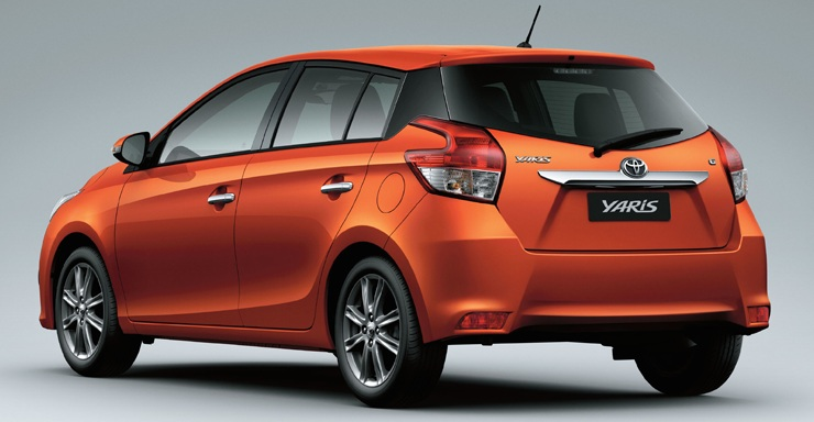 New Toyota Vitz 2015 Hatchbacks