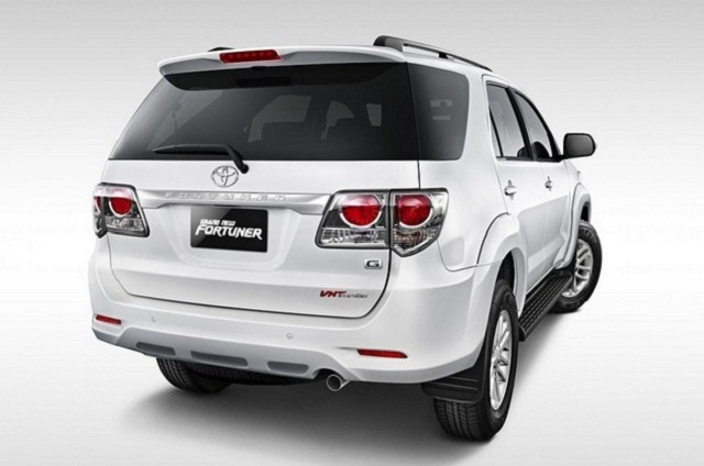 Toyota Fortuner 2015 Back