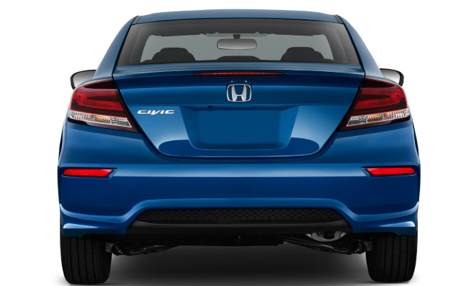 Honda Civic Back Side New Model Design