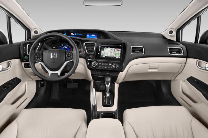 Honda Civic Interior Design