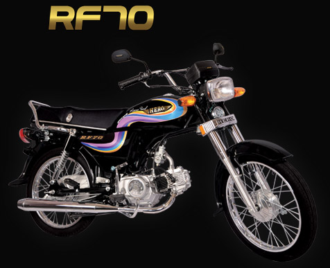 Pak Hero R70 New Model Bike Price in Pakistan