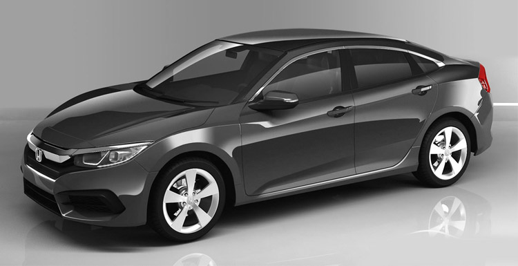 New honda civic 2016 price in pakistan pictures specs for Honda civic 2016 dimensions