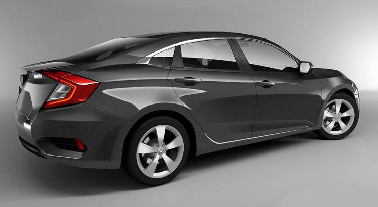 Honda Civic 2016 new model picture