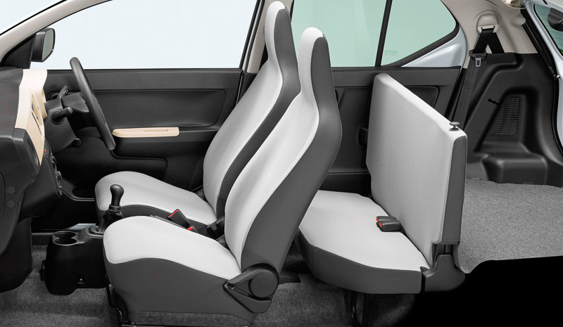 Suzuki Alto 660cc Model 2016 Interior