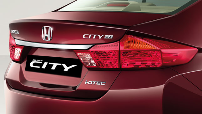 Honda City Rear_License_Chrome_Garnish