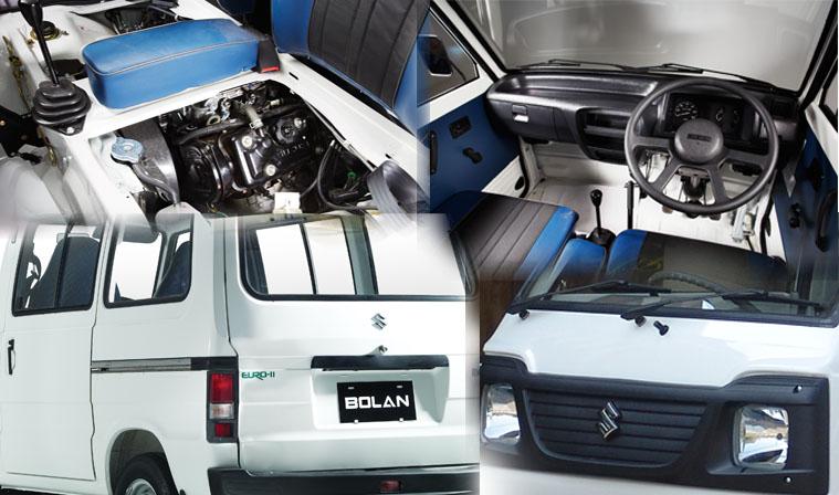 Suzuki Bolan Carry Daba 2016 Enterior and Exterior