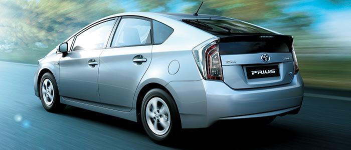 Toyota Hybrid Car Prius Image