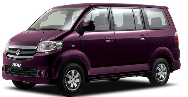Suzuki-APV-in-Maroon-Color