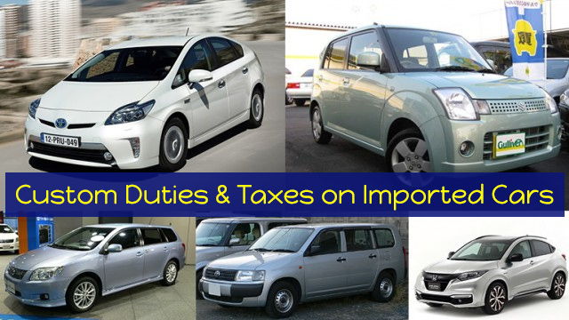Custom-Duties-&-Taxes-on-Imported-Cars