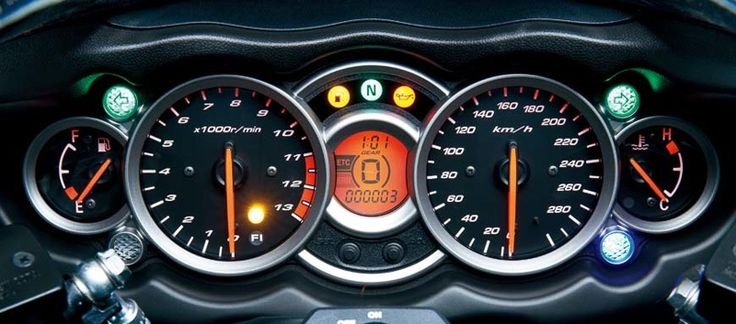 Suzuki Hayabusa Top Speed Meter