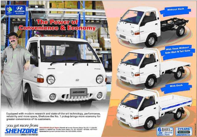 Hyundai Shehzore Advertisement