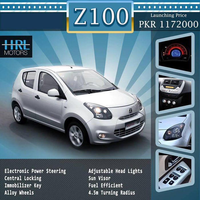 HRL Zotye-Z100-Features-and-Price